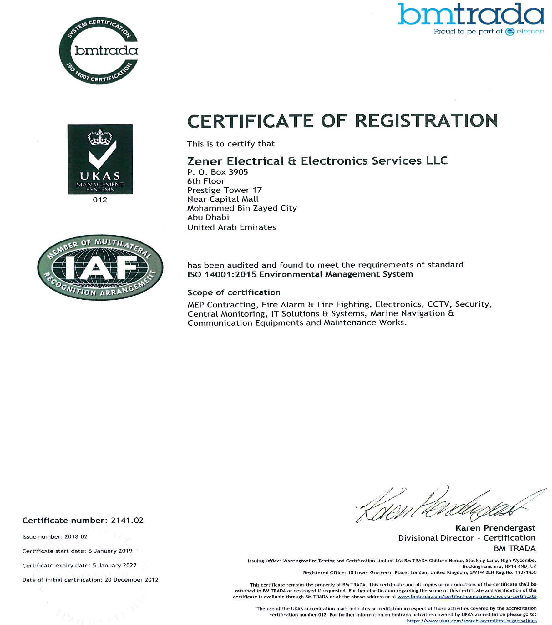 a-iso-certificate